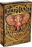 Elephant Playing Cards – Beautiful Deck of Cards, Hand Illustrated Poker Cards with Custom Faces. Incredible Foil and…