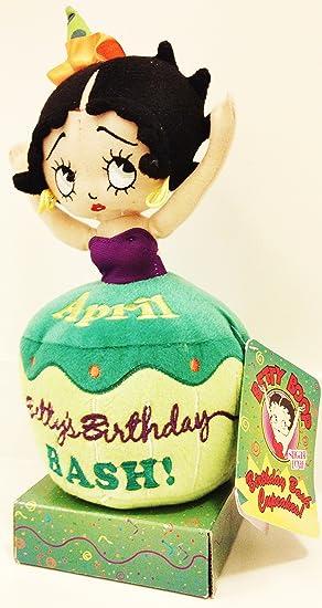 Astounding Betty Boop Birthday Bash Cupcakes April Amazon Co Uk Toys Games Personalised Birthday Cards Veneteletsinfo