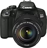 Canon EOS 650D SLR Digitalkamera (18 Megapixel, 7,6 cm (3 Zoll) Touch-Display, Full HD) Kit inkl. EF-S 18-135 IS STM Objektiv schwarz