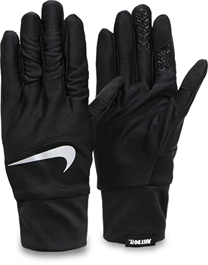 the latest 85a87 fb602 Nike Mens Dri-Fit Tempo Running Gloves, Medium (BlackSilver) (Medium) Buy  Online at Low Prices in India - Amazon.in