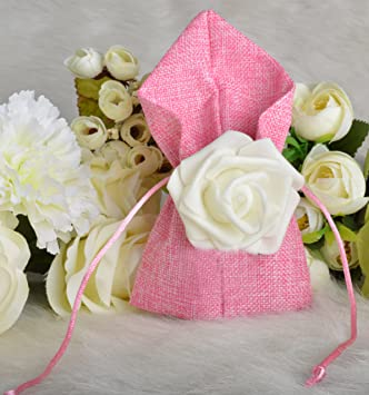 Amazon.com: Moleya - Bolsas de regalo para fiestas de boda ...