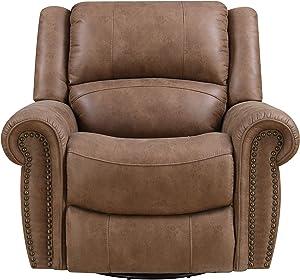 Emerald Home Furnishings Spencer recliner, Standard, brown