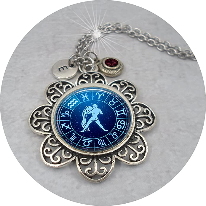 Aquarius Birthstone Garnet Choker Capricorn Jewelry January Birthstone Garnet Necklace for Men Masculine Garnet Gemstone Necklace
