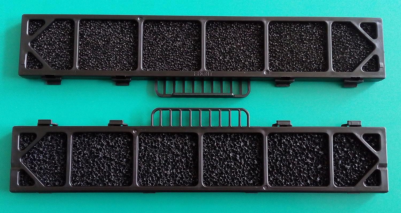N. 2 Filtri condizionatore - climatizzatore LG 5231AR2412T misure : 29, 7x5, 2x1, 3 Spare parts LG