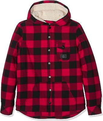 RIP CURL Eskimo LS Overshirt Camisa, Niños, Rojo, 14: Amazon.es: Ropa y accesorios