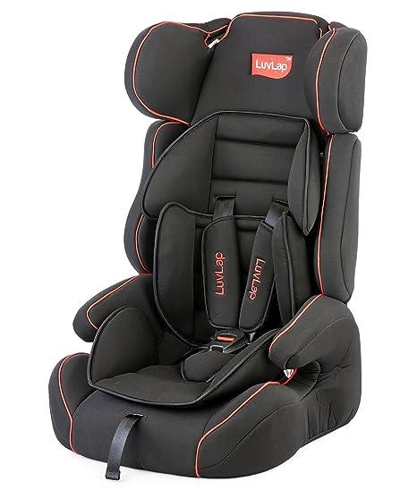 Luvlap Comfy Baby Car Seat Black