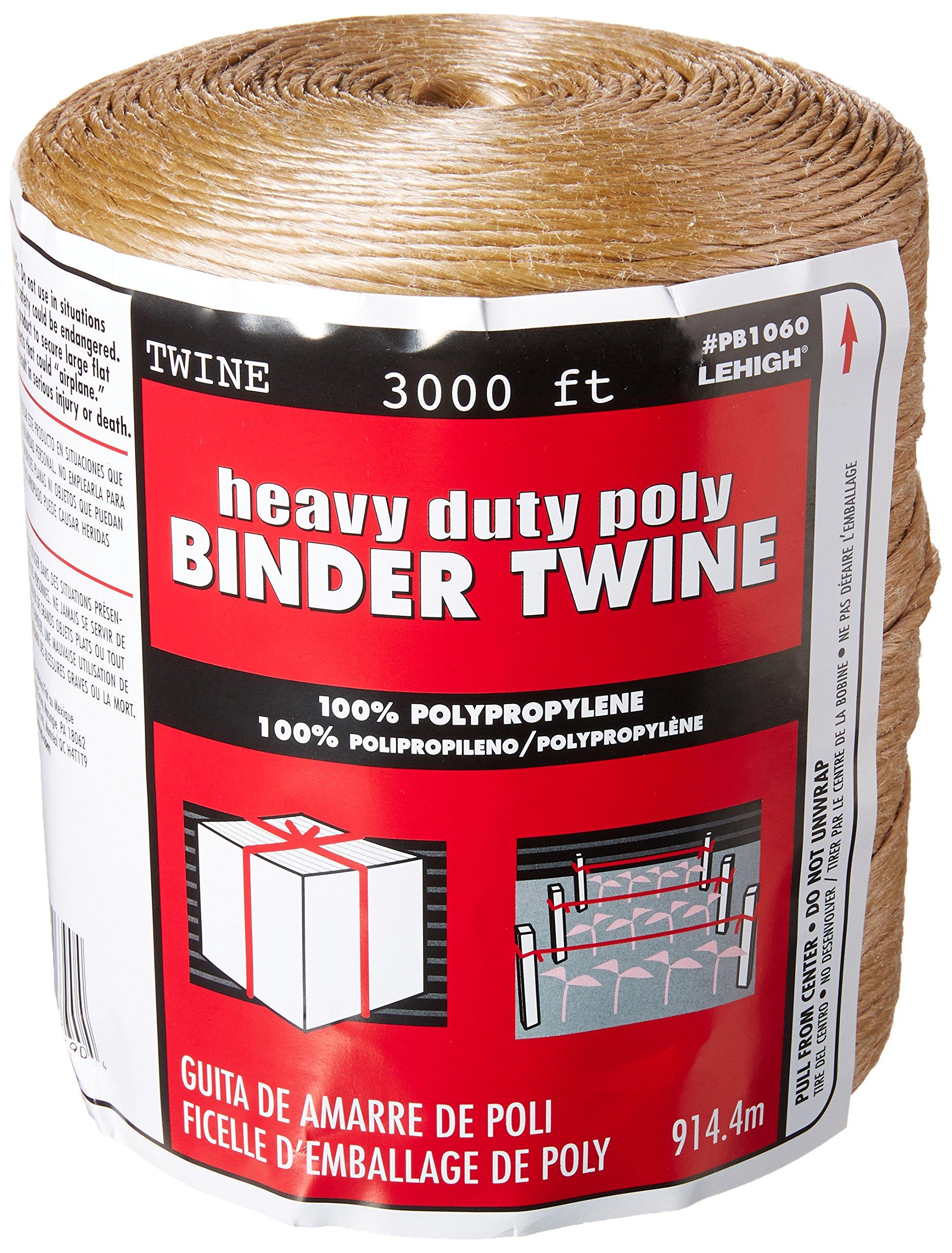 Lehigh Group PB1060 Heavy Duty Poly Binder Twine by The Lehigh Group