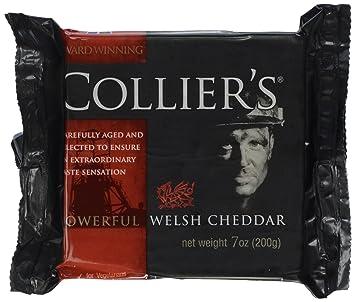 Collier's Welsh Cheddar, 7 oz