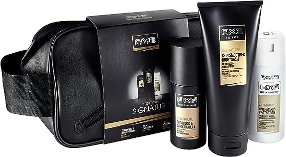 Axe Signature – Set de regalo con antitranspirante y bolsa de aseo: Amazon.es: Belleza