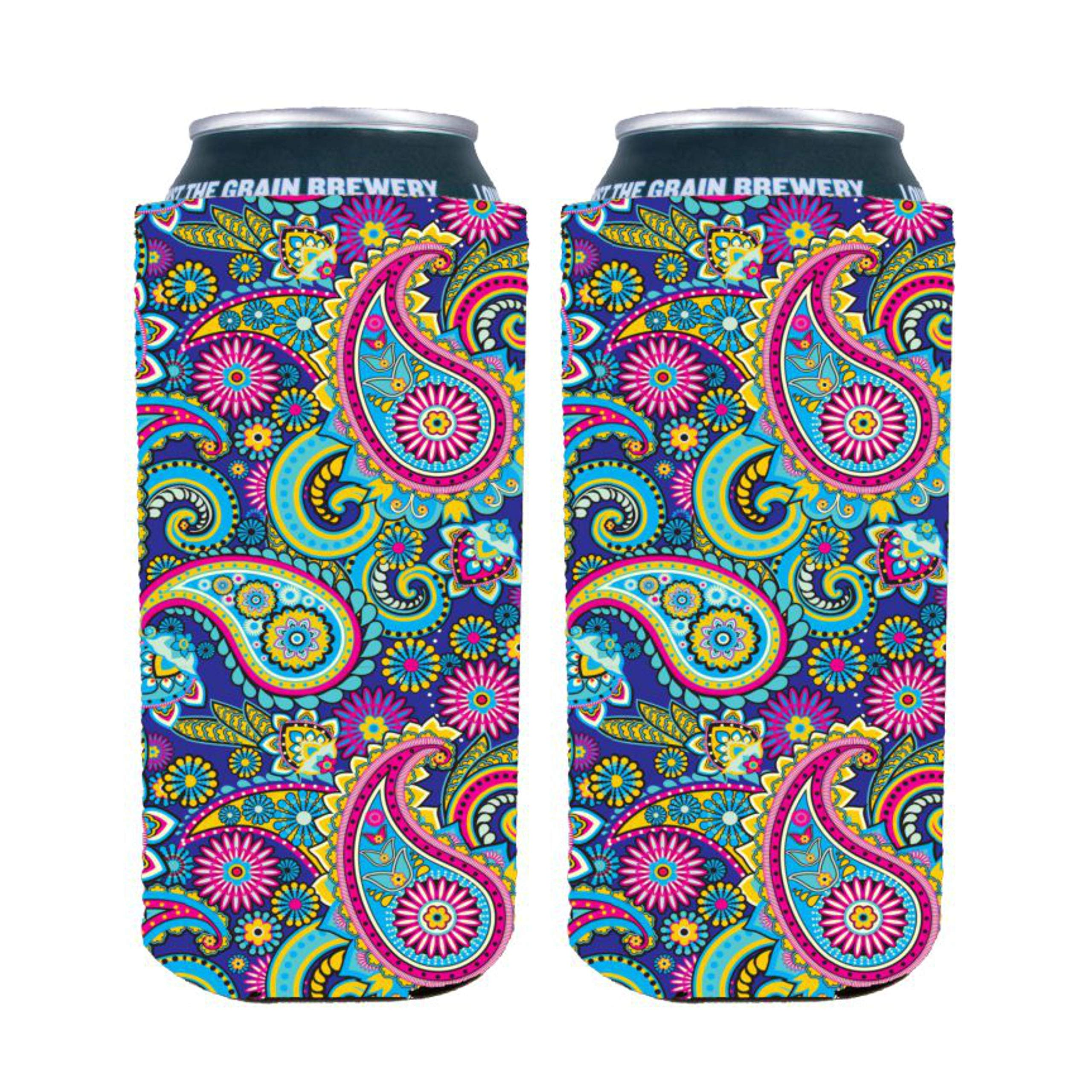 Paisley Pattern 16 oz. (Pint) Can Coolie (2)
