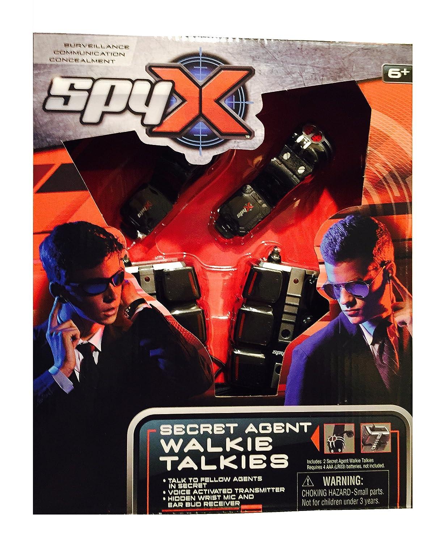 SpyX Walkie-Talkie Secret Agent Wrist 10522