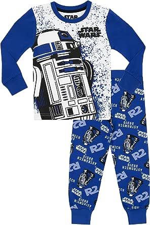 Star Wars - Pijama para Niños R2D2 - Ajust Ceñido