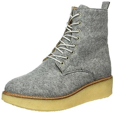 Apple of Eden Jig, Rangers Boots Femme, (Grey), 38 EU
