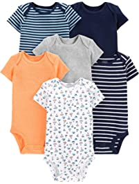 Simple Joys by Carter s Baby Boys  6-Pack Short-Sleeve Bodysuit bfb2294d3