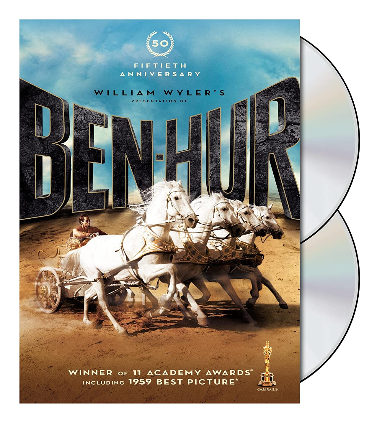 Amazon com: Ben-Hur: 50th Anniversary Edition (DVD): Various