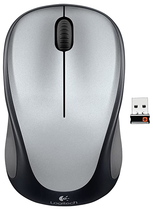 46c019e55ce Amazon.com: Logitech Wireless Mouse m317 with Unifying Receiver, Silver:  Computers & Accessories