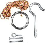 Original Hook and Ring Game Essentials- Includes Hook, Ring, Mounting Screws, and Thread by Tiki Toss