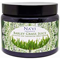 Organic Raw Barley Grass JUICE Powder - Premium Grade & Organic Certified (250 grams)