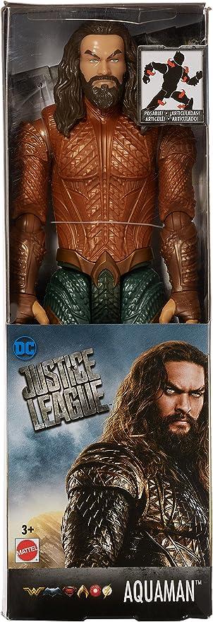 DC Justice League Surtido Figuras de acción básicas de Aquaman ...