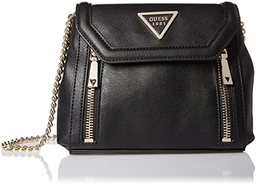 GUESS Urban Sport Savoy Black Crossbody Flap  Handbags  Amazon.com 4c1eadebcb