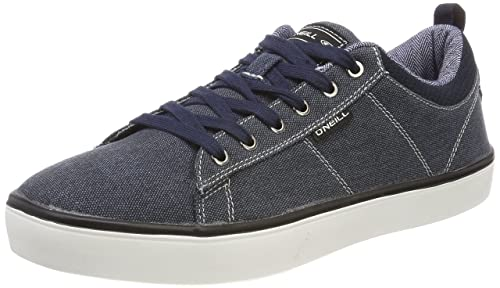 New Mens Oneill Grey Void Suede Trainers Skate Lace Up