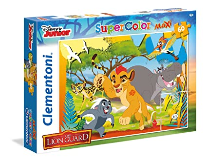 Clementoni The Lion Guard - Always On Guard Maxi Puzzle (60 Piece)