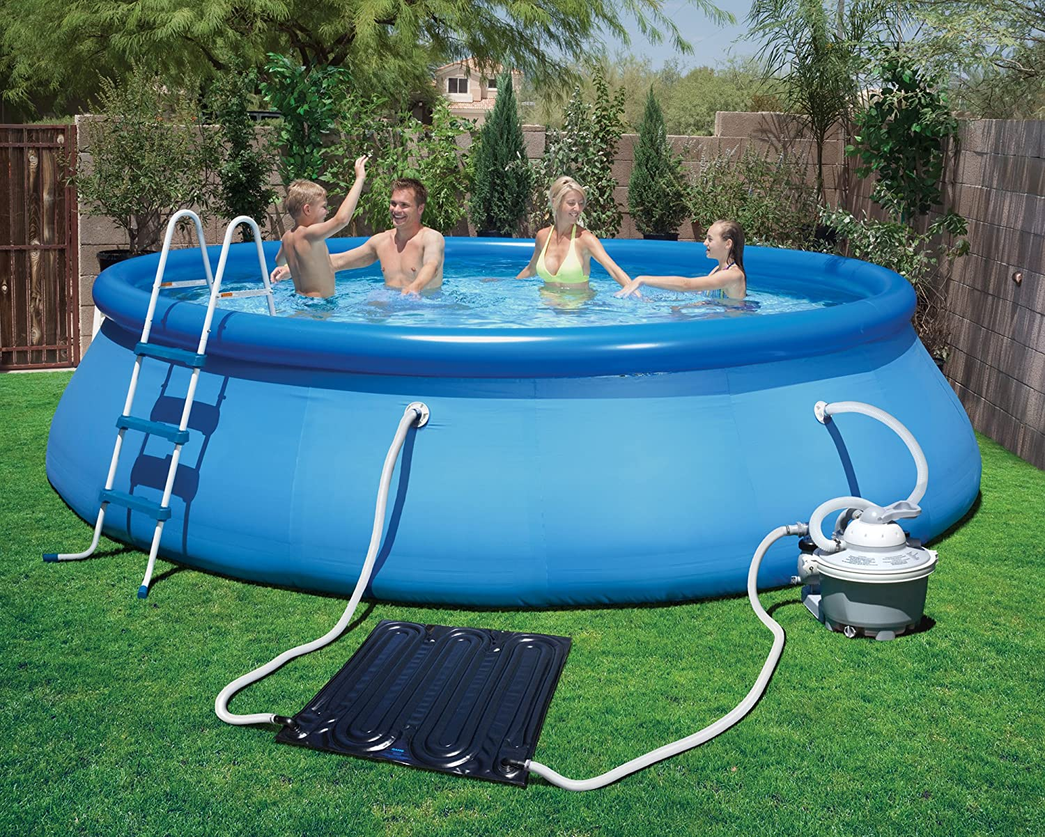 above ground pools.  Ground Blue Wave NS6012 SolarPro EZ Mat Solar Heater For Above Ground Pools  Amazonca Patio Lawn U0026 Garden And Pools M