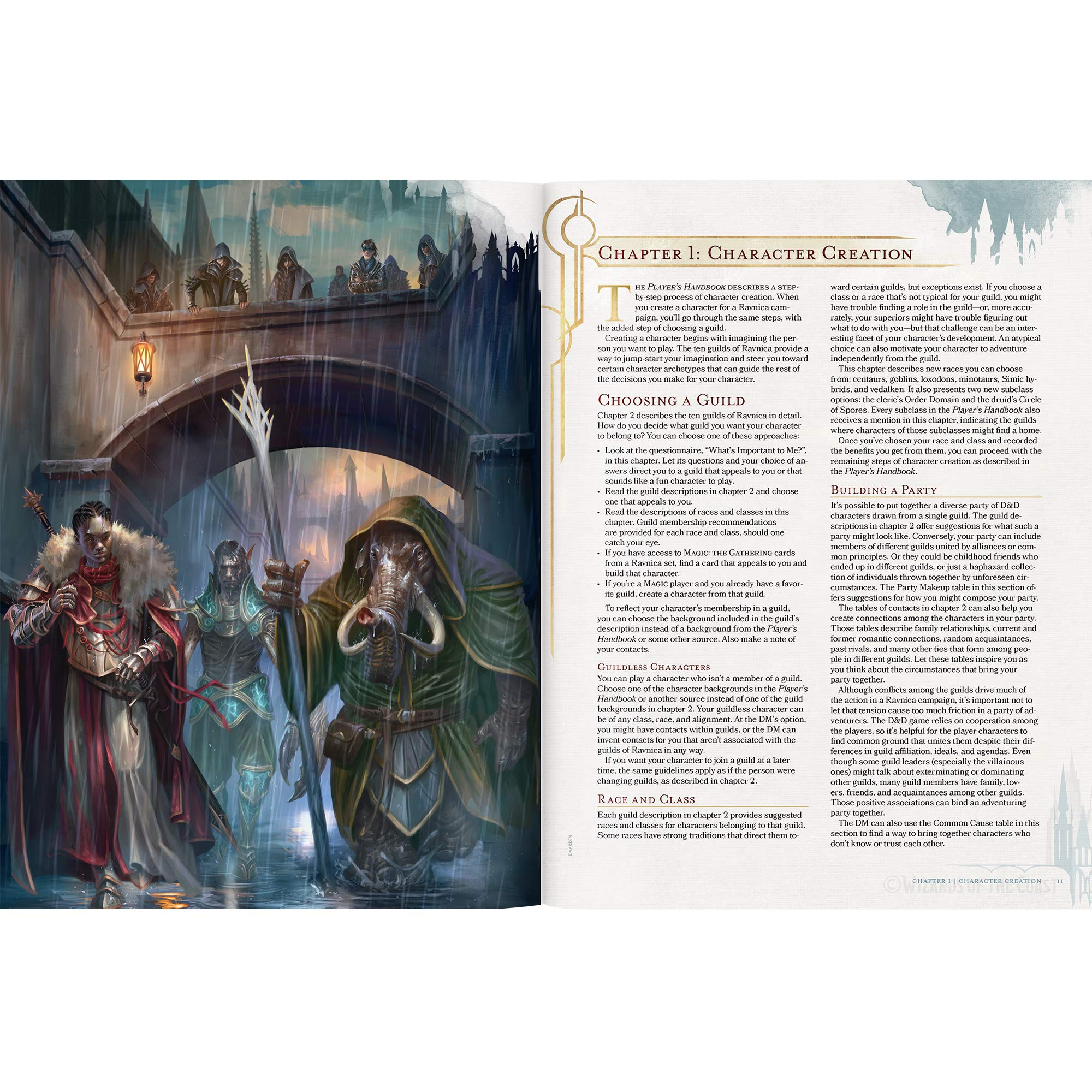 Dungeons & Dragons Guildmasters' Guide to Ravnica (D&D/Magic