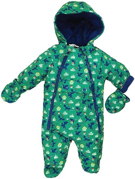 Jack and Lily - Traje de Nieve - para bebé niño Verde 62 cm ...
