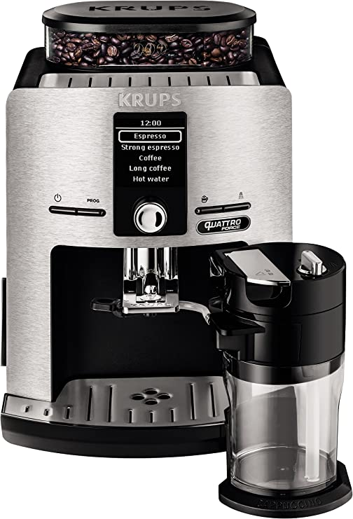 Krups Lattespress QF Die Cast EA82FD - Cafetera Super Automáticas ...