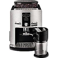Krups EA82FD kahve otomatı, Latt'Espress Quattro Force, alüminyum ön kısım, One-Touch fonksiyonu, süt kabı, 1,7 l, 15…