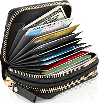 Analytical Genuine Leather Card Pack Organizer Business Rfid Credit Card Holder Women Travel Card Bag Zipper Small Change Purse For Women Complete In Specifications Coin Purses & Holders Back To Search Resultsluggage & Bags