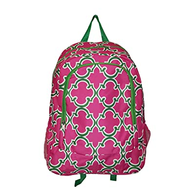 Novelty Print Medium Sized Backpack - 16 in tall