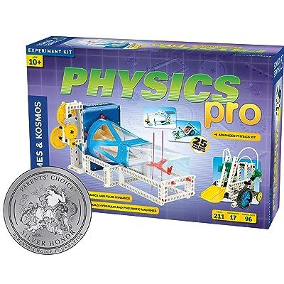 Thames & Kosmos Physics Pro (V 2.0) Science Kit | 96 Page Color Manual | 31 Experiments | Advanced Physics Education Kit | Parents' Choice Silver Award Winner: Toys & Games