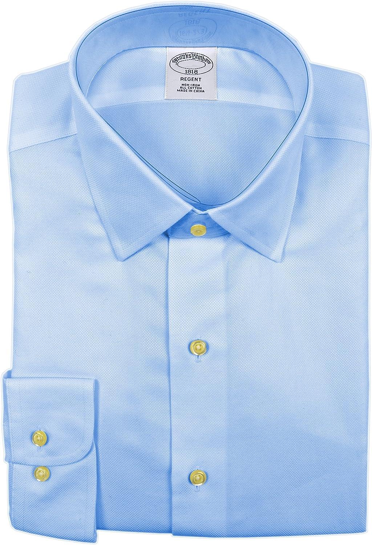 Brooks Brothers camisa de vestir para hombre, con textura ...