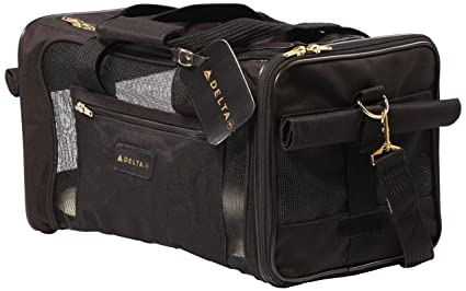 41c76b73f5 Amazon.com : Sherpa Travel Delta Air Lines Approved Pet Carrier ...