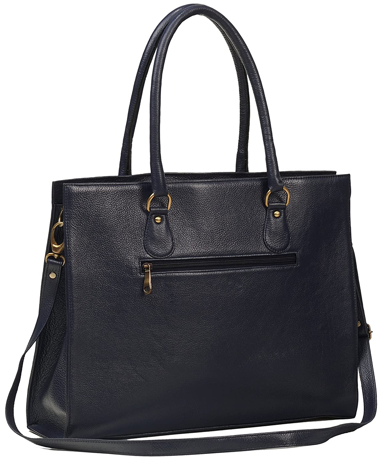 31b2b451ea durable modeling ZipperNext Genuine Leather Tote handbag Shoulder Bag  Women s Leather Laptop Bag with compartment for