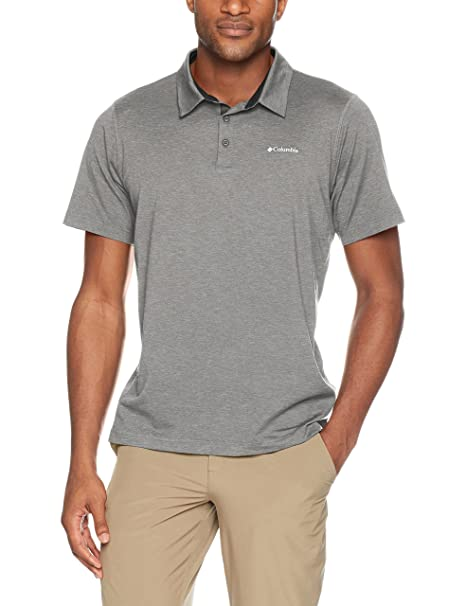 1baa08cb4b2 Amazon.com : Columbia Men's Tech Trail Polo Shirt : Sports & Outdoors
