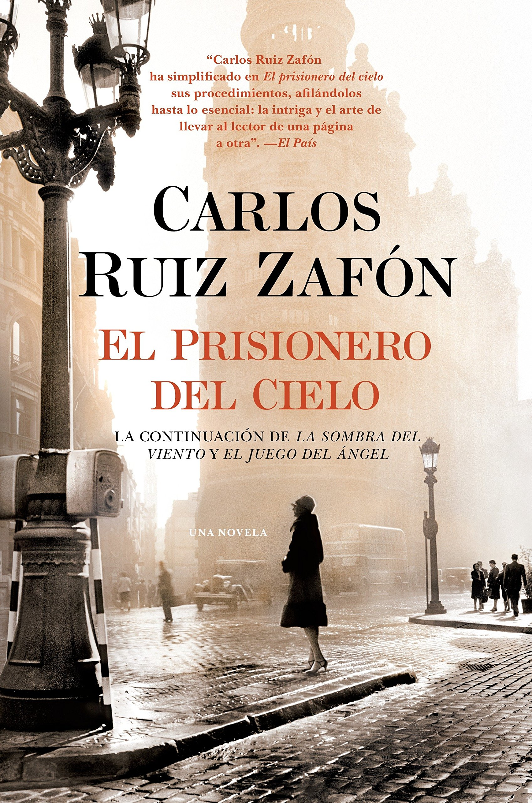 Amazon.com: El Prisionero del Cielo (Spanish Edition) (9780345803306):  Carlos Ruiz Zafon: Books