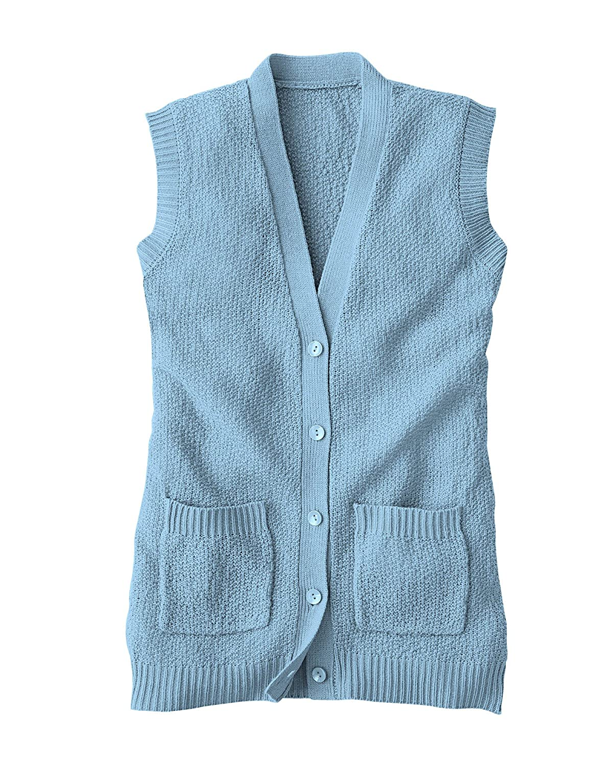 National Scramble Stitch Sweater Vest 5235