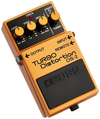 Amazon.com: Boss DS-2 Turbo Distortion Pedal with Remote Jack: Musical Instruments
