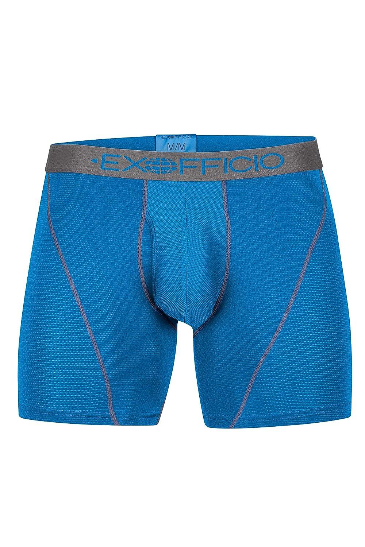 ExOfficio Men's Give-N-Go Sport Mesh Performance Boxer Briefs, 6 6