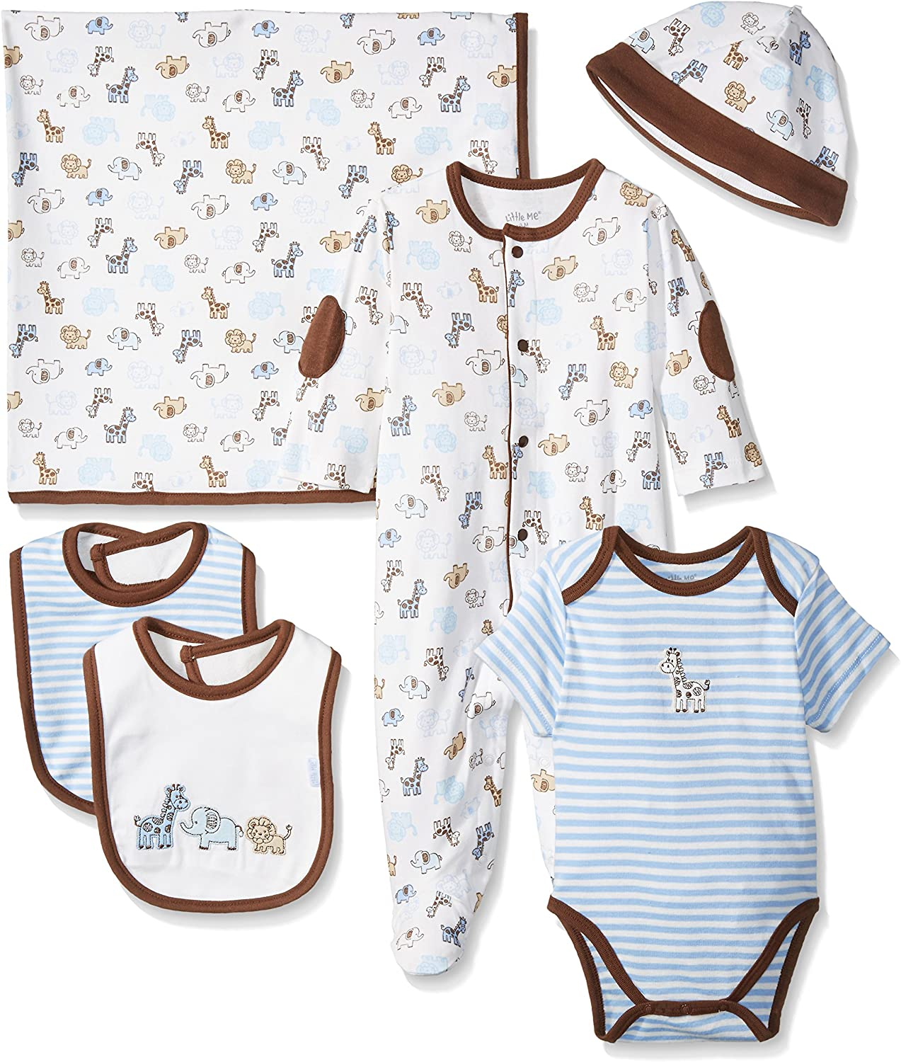 Little Me Baby Boys Newborn Gift Set