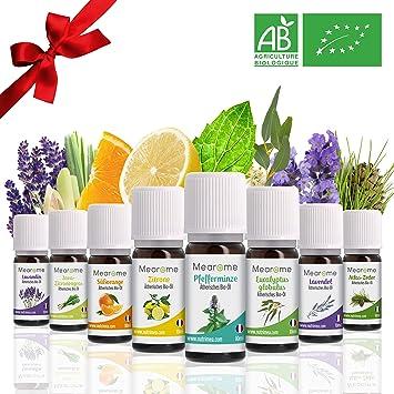 8 Atherische Bio Ole Fur Diffuser Aromatherapie Set Atherisches