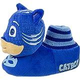 PJ Masks Kids Slippers,Catboy and Gekko,Socktop Slip On Slipper,Toddler Boys and Girls Size 5 to 12