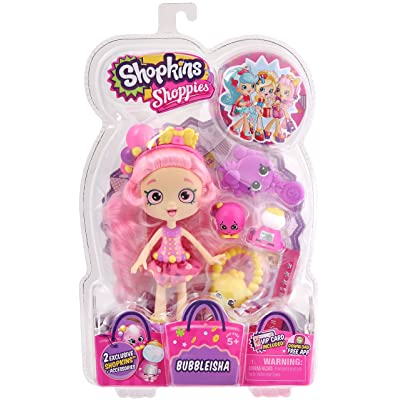 SHOPKINS SHOPPIES S1 DOLL PACK BUBBLEISHA: Toys & Games