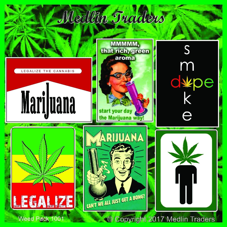 Amazon com 420 lot pack of stickers decals weed pot marijuana stoner dank weed pack 1001 automotive