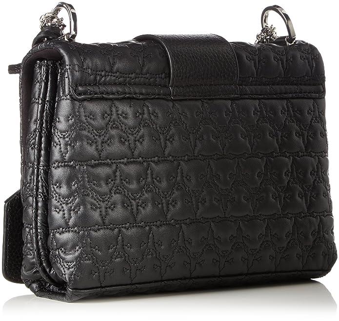 Jb Ti.38 W17, Womens Shoulder Bag, Schwarz (Black), 6x16x22 cm (B x H T) Marc Cain