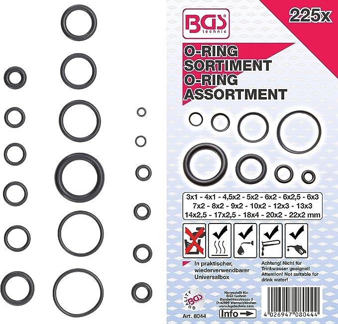 O-Ring 225 x 6 mm NBR 70 Menge 1 Stück Dichtring