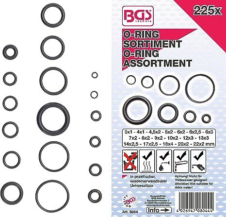 Dichtring Menge 2 Stück O-Ring 13 x 2,5 mm NBR 90